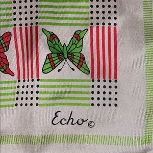 Vintage Echo Butterfly Scarf